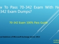 Pass 70-342 Exam With New 70-342 Exam Questions-70-342 Study Guide