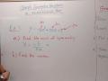 Algebra 1B Lesson 16 Graph Quadratic Equations using Axis of Symmetry and Vertex