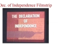 Declaration Filmstrip - 50 Years Old!
