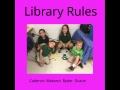 library rules video
