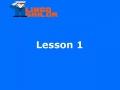 Cursos de inglés para principiantes gratis online - Lesson 1