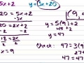 Solving a System of Equations With Substitution