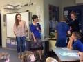 Parent  involvement at  weekly assemblies.