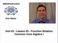 Common Core Algebra I.Unit 4.Lesson 2.Function Notation.by eMathInstruction
