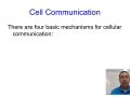 Cellular communication part 2