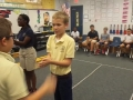 "16-17 Ms. Etts' 5th grade class playing ""Omochi"" Japanese hand clapping game"