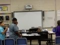 Kellsey Vickers Teaching 7th grade Choir