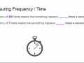 Frequency Examples