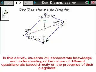 Diagonals of Quadrilaterals [Math Nspired Preview Video]