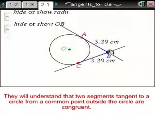 Tangents to a Circle [MN Preview Video]