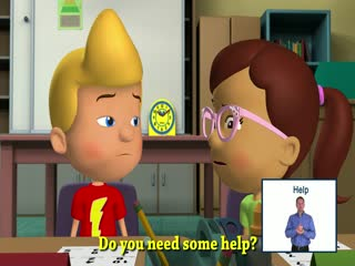 Ask the Teacher for Help Signing Savvy