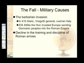 social reasons for the fall of rome