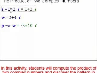 Complex Number Multiplication [Math Nspired Preview Video]