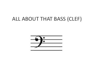 text all about that bass
