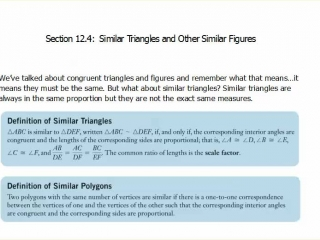 Similiar Triangles