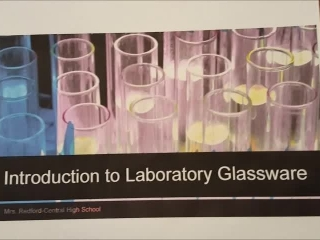 Laboratory Glassware Introduction