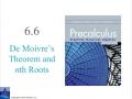 Precalculus 6.6a