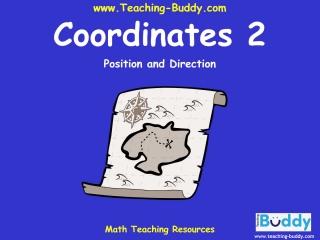 Math Teaching Resources: Coordinates