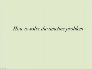 Time-rate-distance Problems