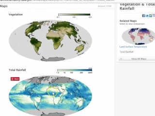 Climate and Vegetation-Animated Maps