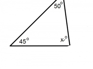 Interior Angles of a Triangle 1