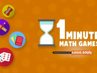 One Minute Math Games for Counting and Addition