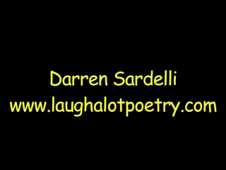 Children's Book Author & Humorous Poet, Darren Sardelli