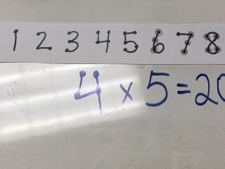 Multiplication with Touchpoints