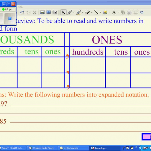 Writing Numbers In Expanded Form E Abbate