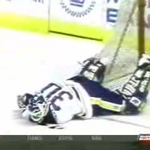Clint Malarchuk Ice Hockey Injury