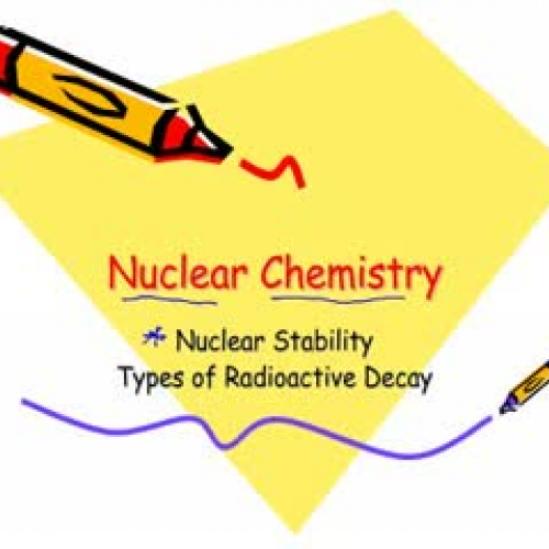 an introduction to the chemistry of nuclear weapons Nuclear energy for power and weapons the energy released by fission excited the european scientists who discovered the phenomenon and it troubled others who recognized from the simple equation, above, that a powerful and rapid conversion of matter to.