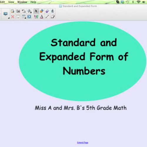 Standard And Expanded Form