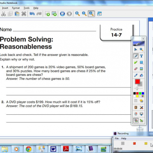 problem solving reasonableness 11-7
