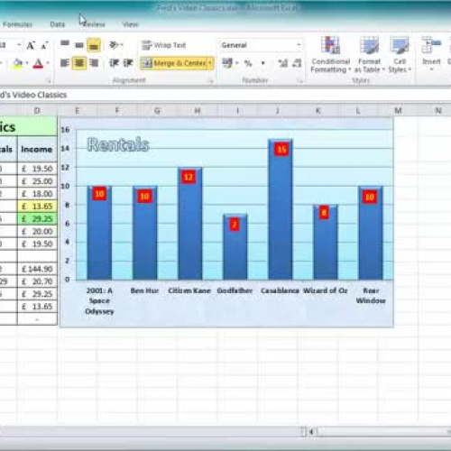 Excel 2010 Tutorial For Beginners  11