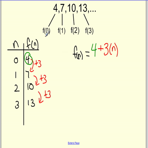 writing explicit formulas video