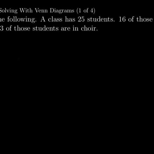 Ib Math Studies 85 Problem Solving With Venn Diagrams