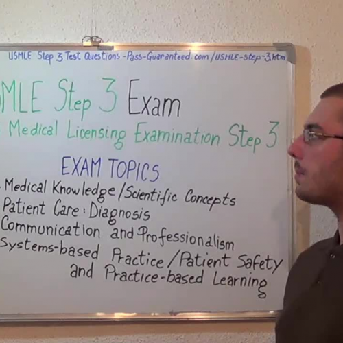 USMLE-STEP-3 – Practice Exam Test Questions Medical Tests