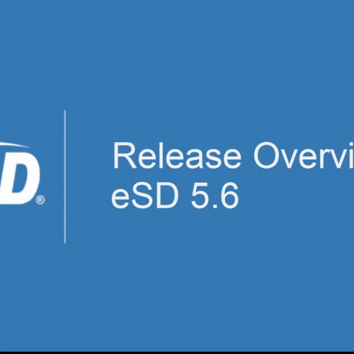 eSD 5.6 Release Overview