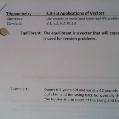 application of vectors in real life