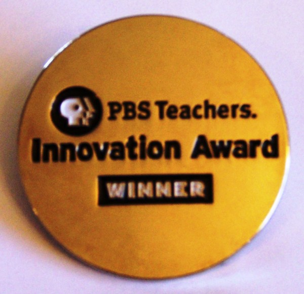 PBS innovation winner pin
