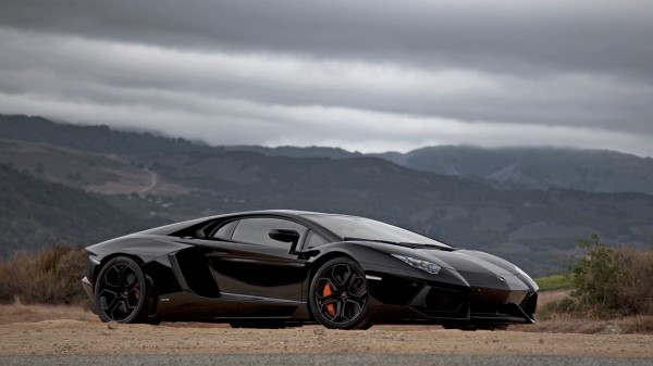 Lamborghini Aventador Black 1080p Hd Wallpaper Teachertube