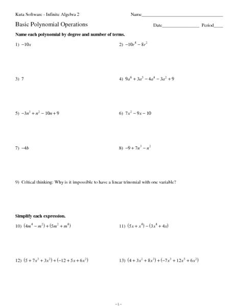 algebra problems and worksheets algebraic long division. Black Bedroom Furniture Sets. Home Design Ideas