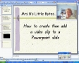 How to add video to a Powerpoint slide