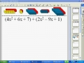 Simplifying Adding and subtracting polynomial