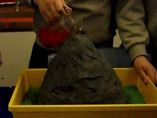 Homemade Volcanoes