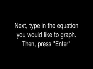 How to Graph an Equation Using any TI-nspire