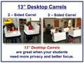 Study Carrels and Computer Carrels from Classroom Products LLC