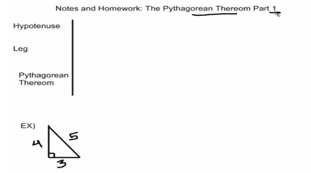notes pythag 1