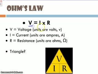 current and ohms law