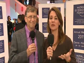 Bill and Melinda Gates Interview